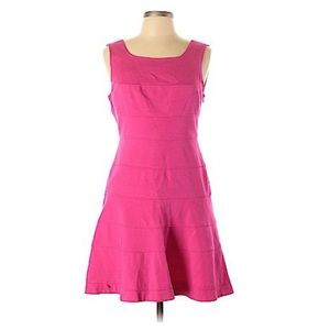Trina Turk Pink Fit and Flare